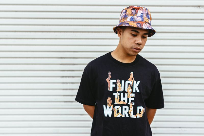 DeadlineLtd_Fuck_the_world_Tee_black_PimpC_bucket_hat